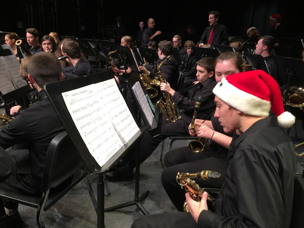 Concert Band performs at the Winter Concert