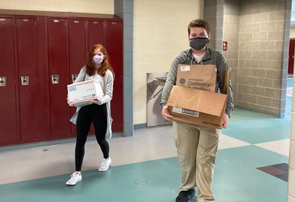 NHS and Key Club Food Drive